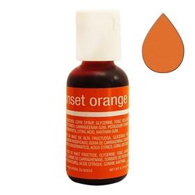 Краситель Chefmaster Liqua-Gel Sunset Orange