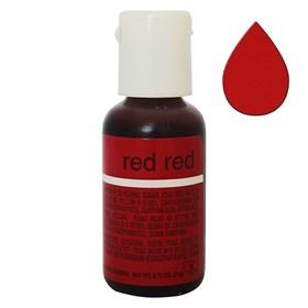 Краситель Chefmaster Liqua-Gel Red Red