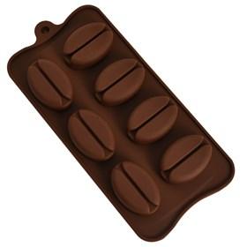 Силиконовая форма для шоколада Кофе