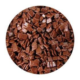 Крошка шоколадная блестящая