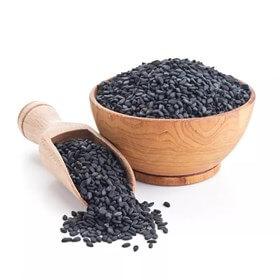 Семена кунжута черные (обжаренные)