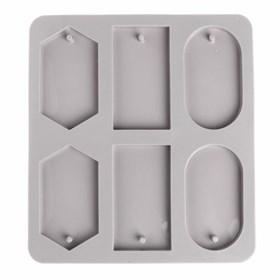 Силиконовая форма для мыла Фигуры
