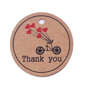 Этикетка-бирка Thank you (25 шт)