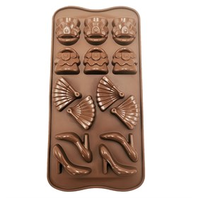 Силиконовая форма для шоколада Женский Набор