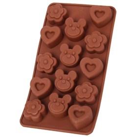 Силиконовая форма для шоколада Медвежонок