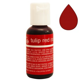 Краситель Chefmaster Liqua-Gel Tulip Red
